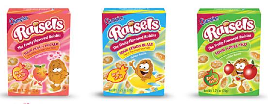 Free Raisels Fruity Flavored Raisin Snacks 11am Est Wheel N