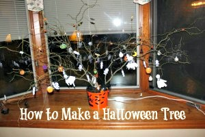 How to Make a Halloween Tree