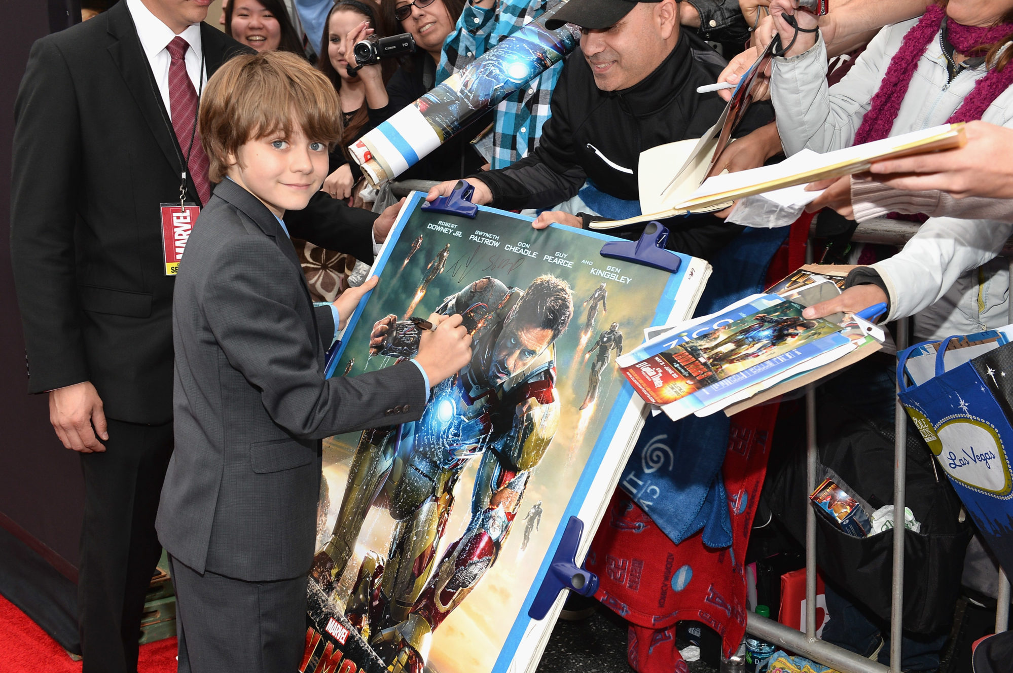 Exclusive Interview with Ty Simpkins - Harley from Iron Man