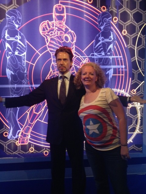 Wheel n Deal Mama hanging out with Tony Stark
