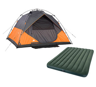 Ozark Trail 6 Person Instant Dome Tent with Intex Queen Airbed Value Bundle  Camping   Walmart.com