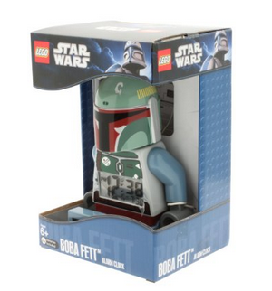 Amazon.com  LEGO Kids  9003530 Star Wars Bobba Fett Minifigure Clock  Lego  Toys   Games