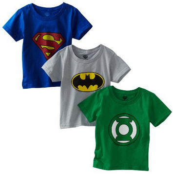 Amazon.com  Fruit of the Loom Boys 2 7 Three Pack Funpals Justice League Shirt  Clothing