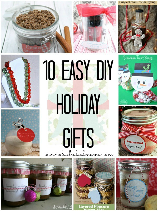 10 Easy DIY Holiday Gifts