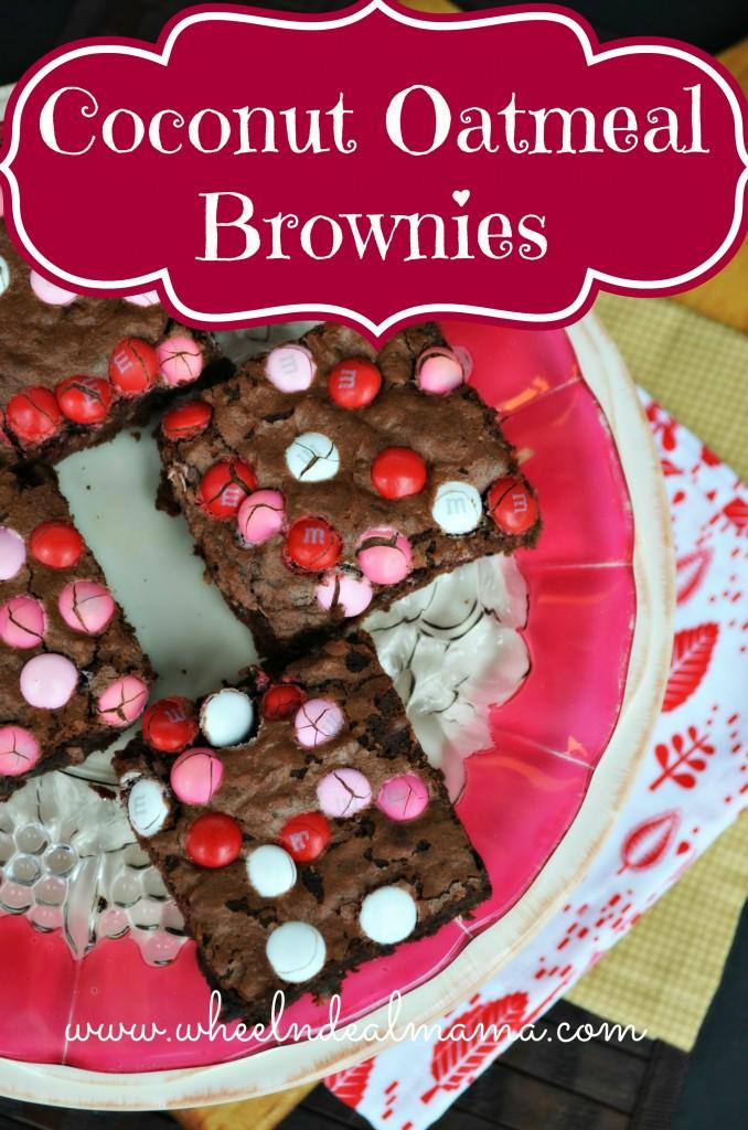 Coconut Oatmeal Brownies