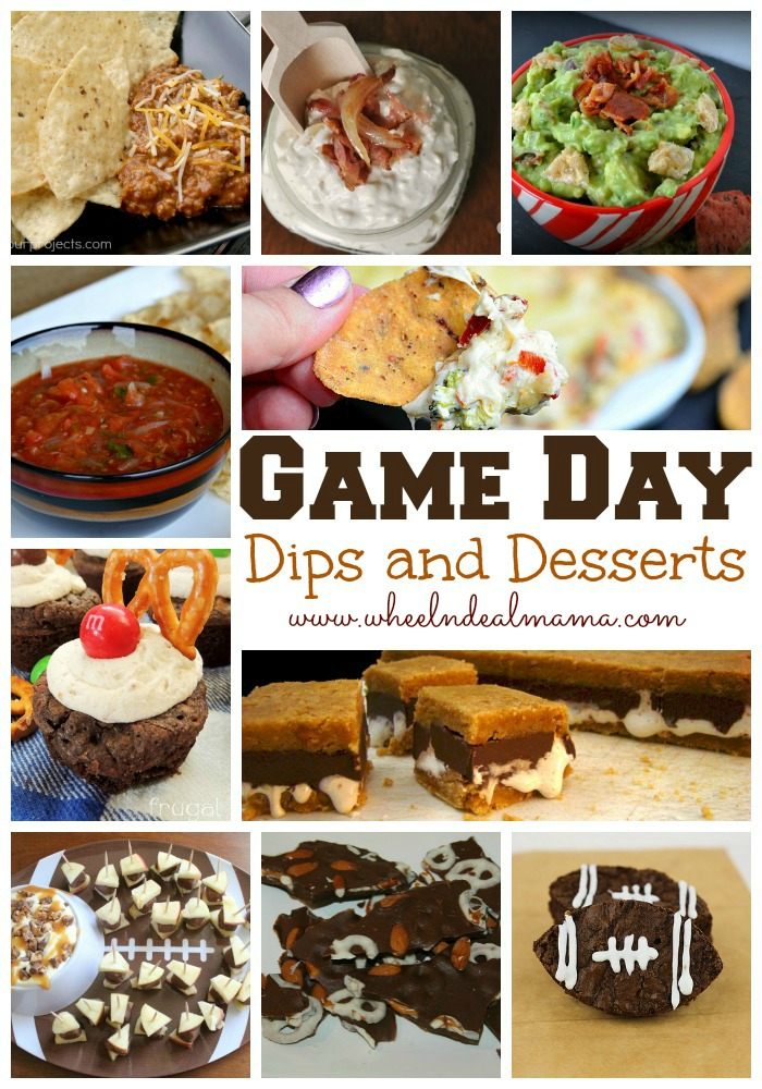 Game Day Dips and Desserts