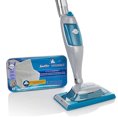 Swiffer Bissell 174 Steamboost With 20 Lavender Refill Pads
