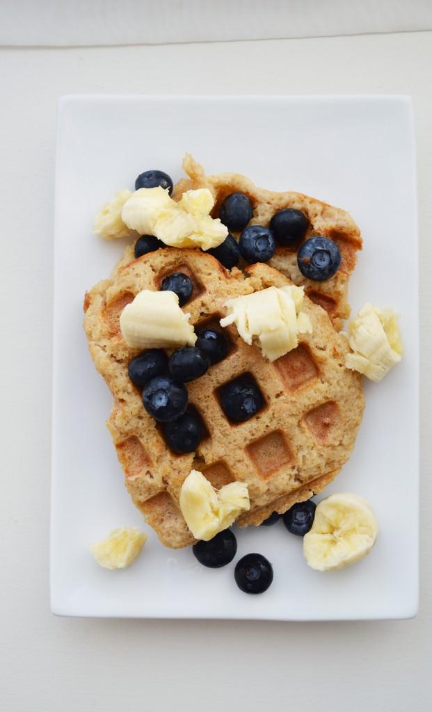 french toast waffles finished