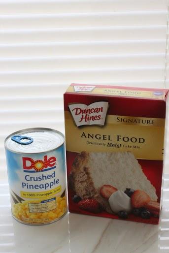 2 ingredient pineapple cake ingredients