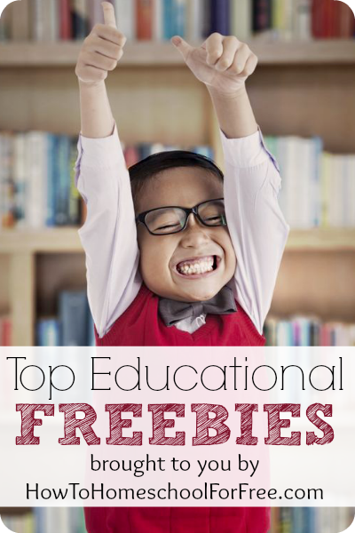Top Ten Educational Freebies, 3/22/14