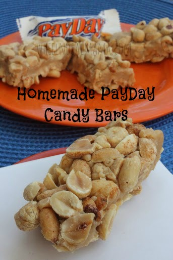 Homemade Payday Candy Bars
