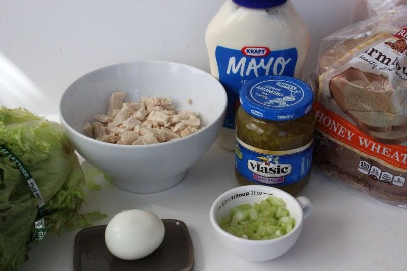 Chick-fil-A Chicken Salad Ingredients