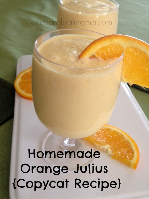 Homemade Orange Julius