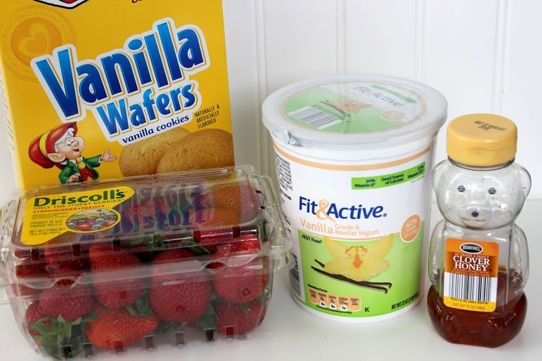 Strawberry Shortcake Popsicle Ingredients