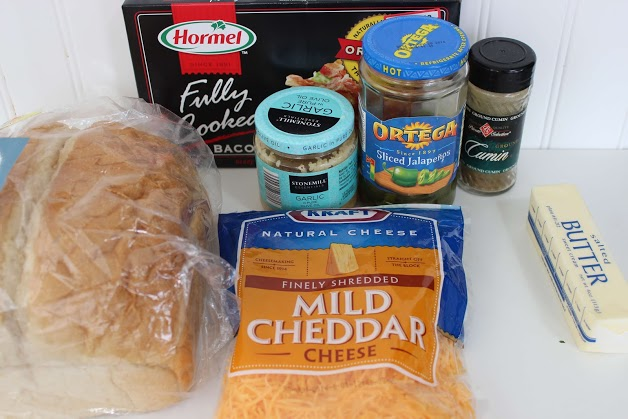 ingredients for jalapeno bread