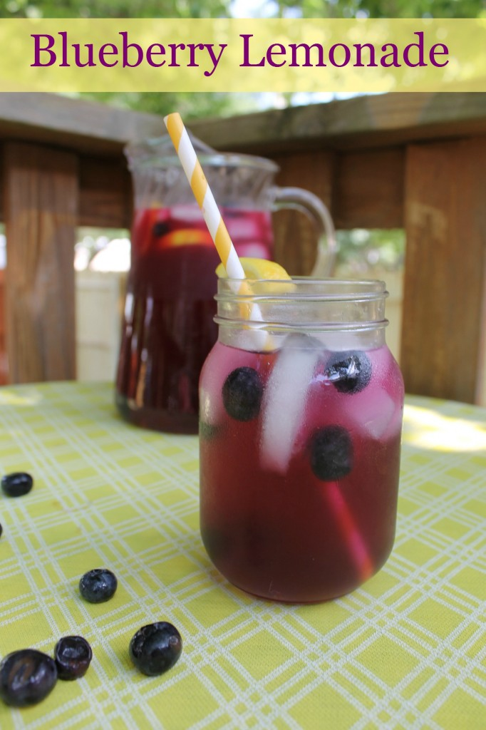 Fresh Squeezed Blueberry Lemonade