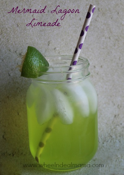 Mermaid Snacks: Mermaid Lagoon Limeade
