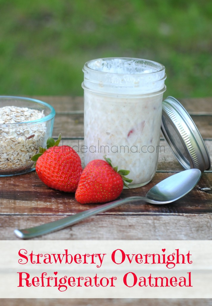 Strawberry Refrigerator Oatmeal