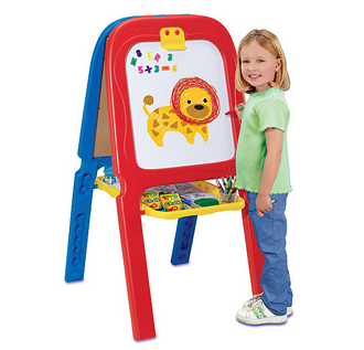 Crayola 3 In 1 Double Easel With Magnetic Letters Just 26