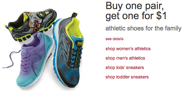 82f8a788465c Kmart   HOT  Buy One Pair of Athletic Shoes