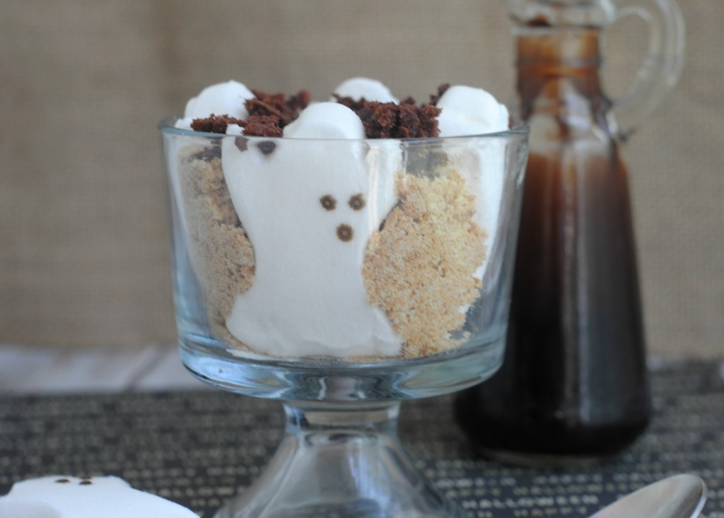 Ghost Smores Trifle