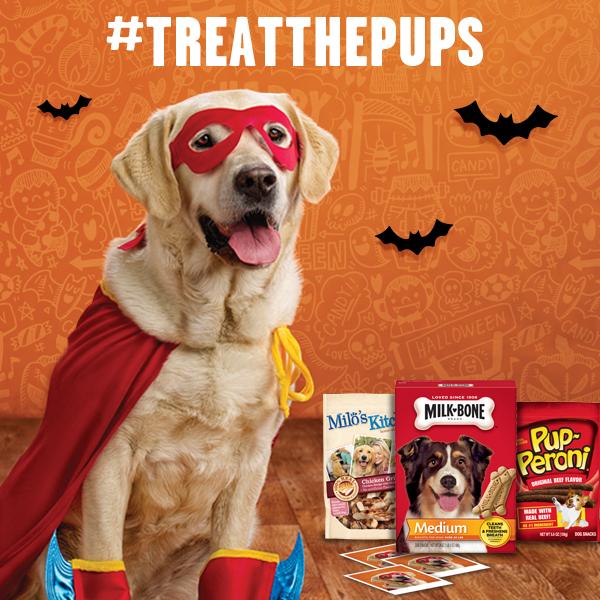 treat pups