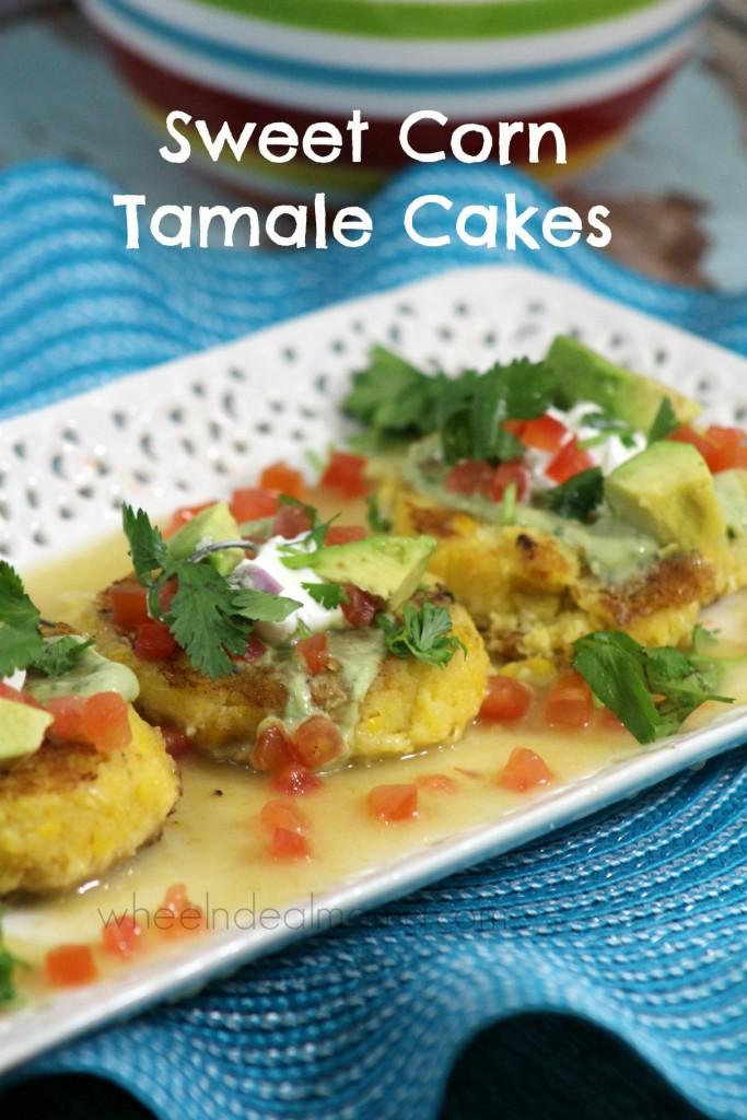 Sweet Corn Tamale Cakes