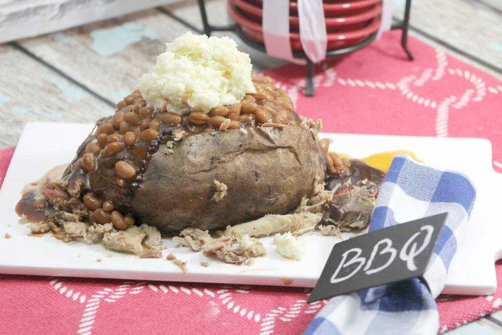 BBQ Pulled Pork Baked Potato 3