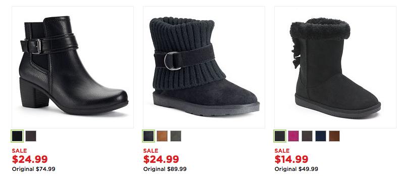 presenting discount sale pretty cheap Kohls: Black Friday Deals LIVE! $80 boots under $20! - Wheel ...