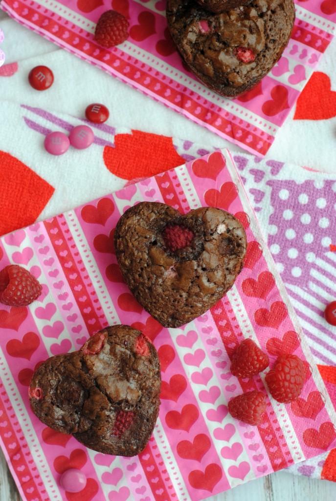 Valentine Chocolate Raspberry Heart