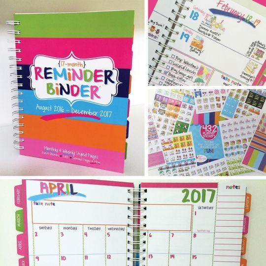 Reminder Binder + 432 Stickers Only $13.95! (Reg. $33.94