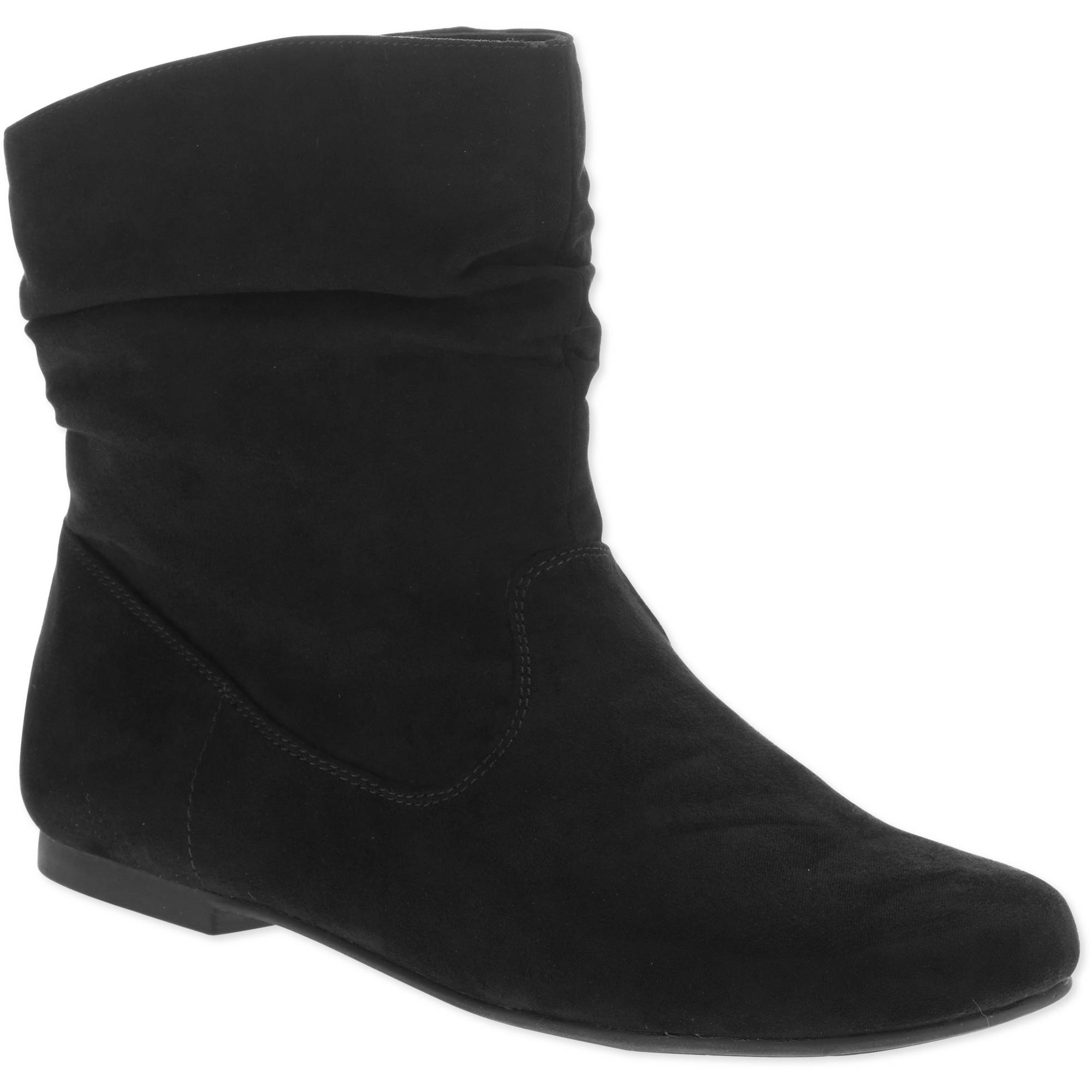 Faded Glory Women S Essential Slouch Boot 6 88 Wheel N