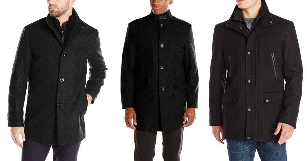 983208dfec6d Kenneth Cole New York Men's Wool-Blend Walker Coat $19.97 - Wheel N ...