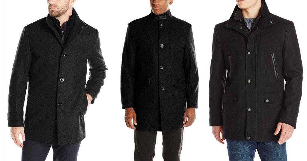 983208dfec6d Kenneth Cole New York Men's Wool-Blend Walker Coat $19.97 - Wheel N ...
