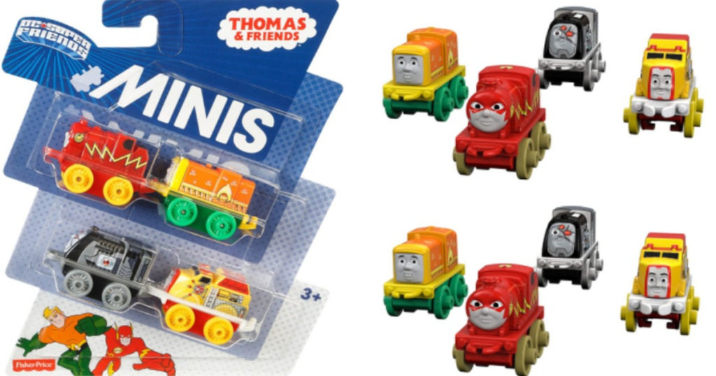 Fisher Price Thomas And Friends Minis Dc Super Friends 4