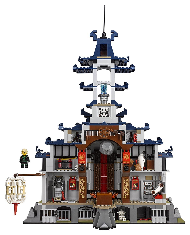 lego ninjago movie temple ultimate ultimate weapon 80