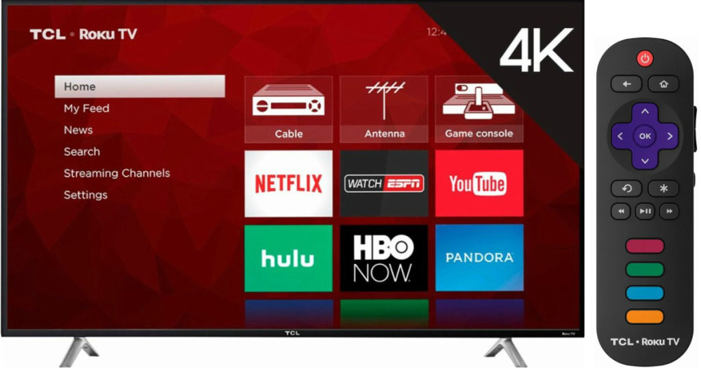 Tcl 55 4k Ultra Hd Smart Led Tv 399 99 Shipped Wheel N