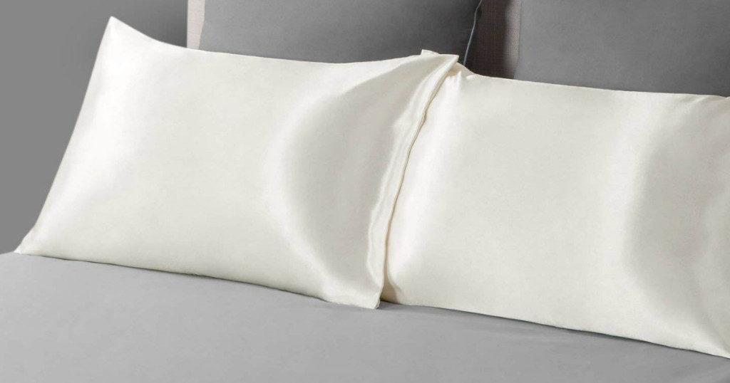Bedsure Satin Pillowcase 2 Pack 7 99 Wheel N Deal Mama