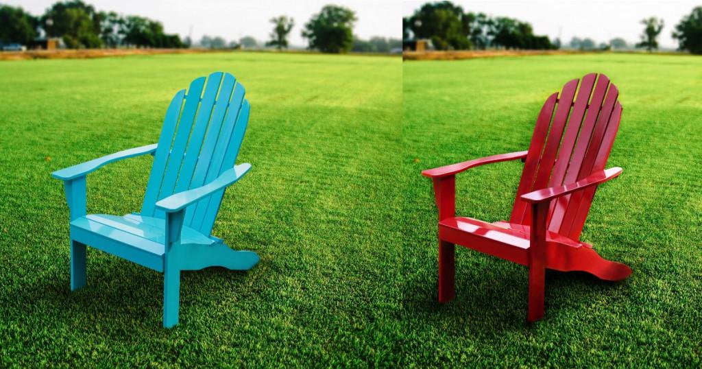 Mainstays Wood Adirondack Chair 67 Shipped Wheel N Deal